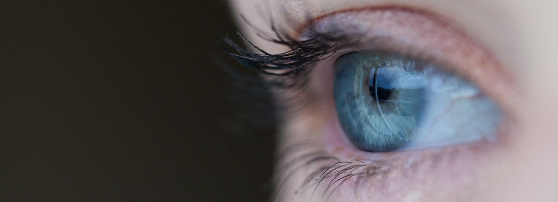 zwevende vlekken oog